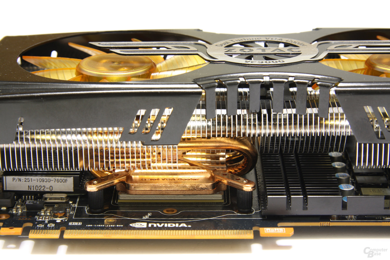 GeForce GTX 480 AMP! Heatpipes