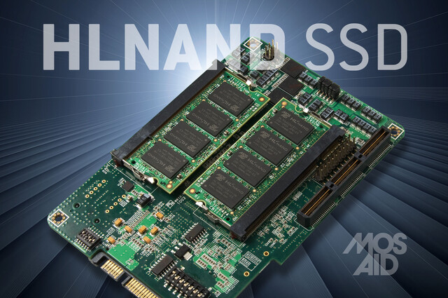Mosaid HLNAND SSD Prototyp