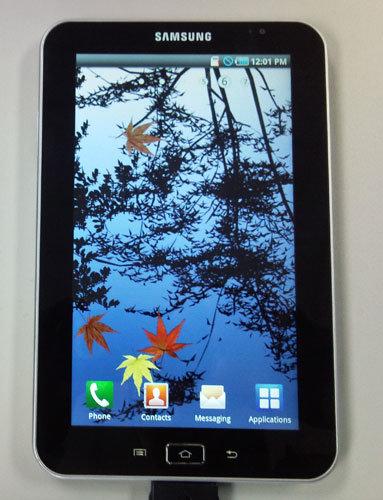 Durchgesickertes Foto des Samsung Galaxy Tab