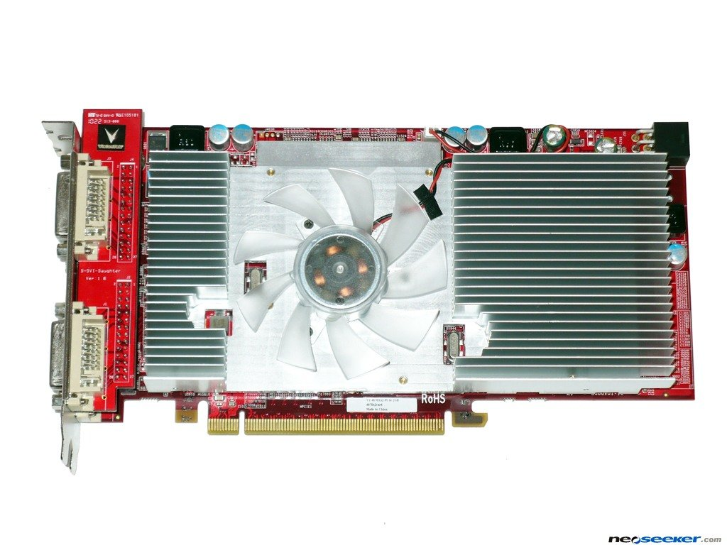 VisionTek HD4670X2 Quad