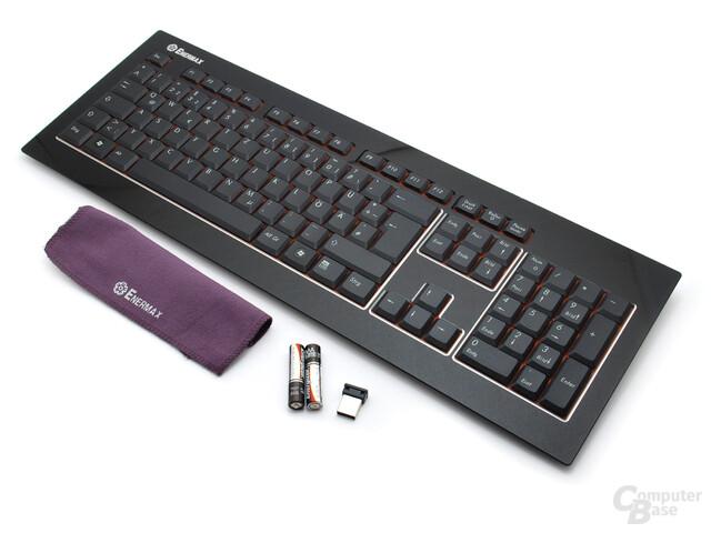 Enermax Acrylux Wireless Lieferumfang