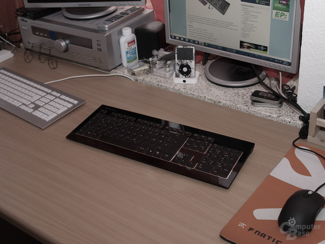 Desktop-Beispiel mit der Acrylux