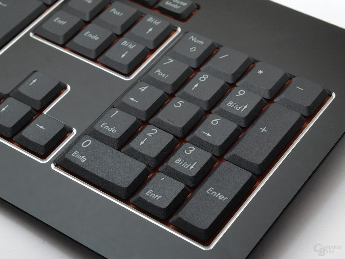 Separater Ziffernblock ist für Desktop-Tastaturen ein Muss