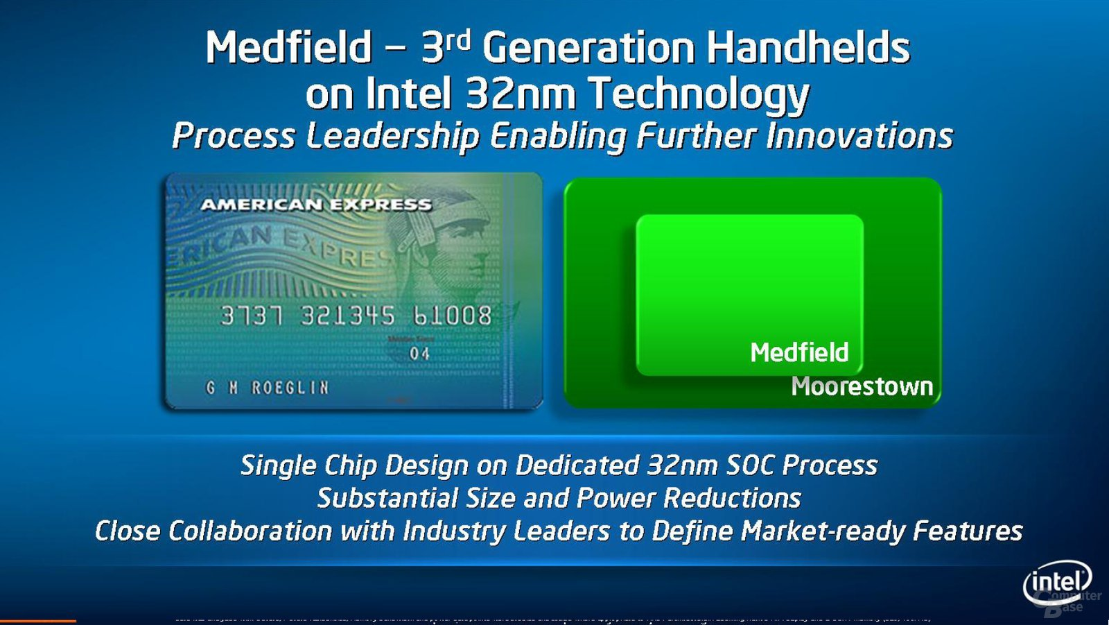 "Intel-Plattform ""Medfield"""