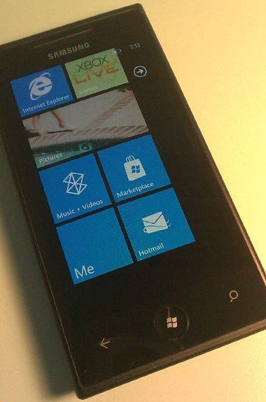 Samsung Windows Phone 7-Smartphone
