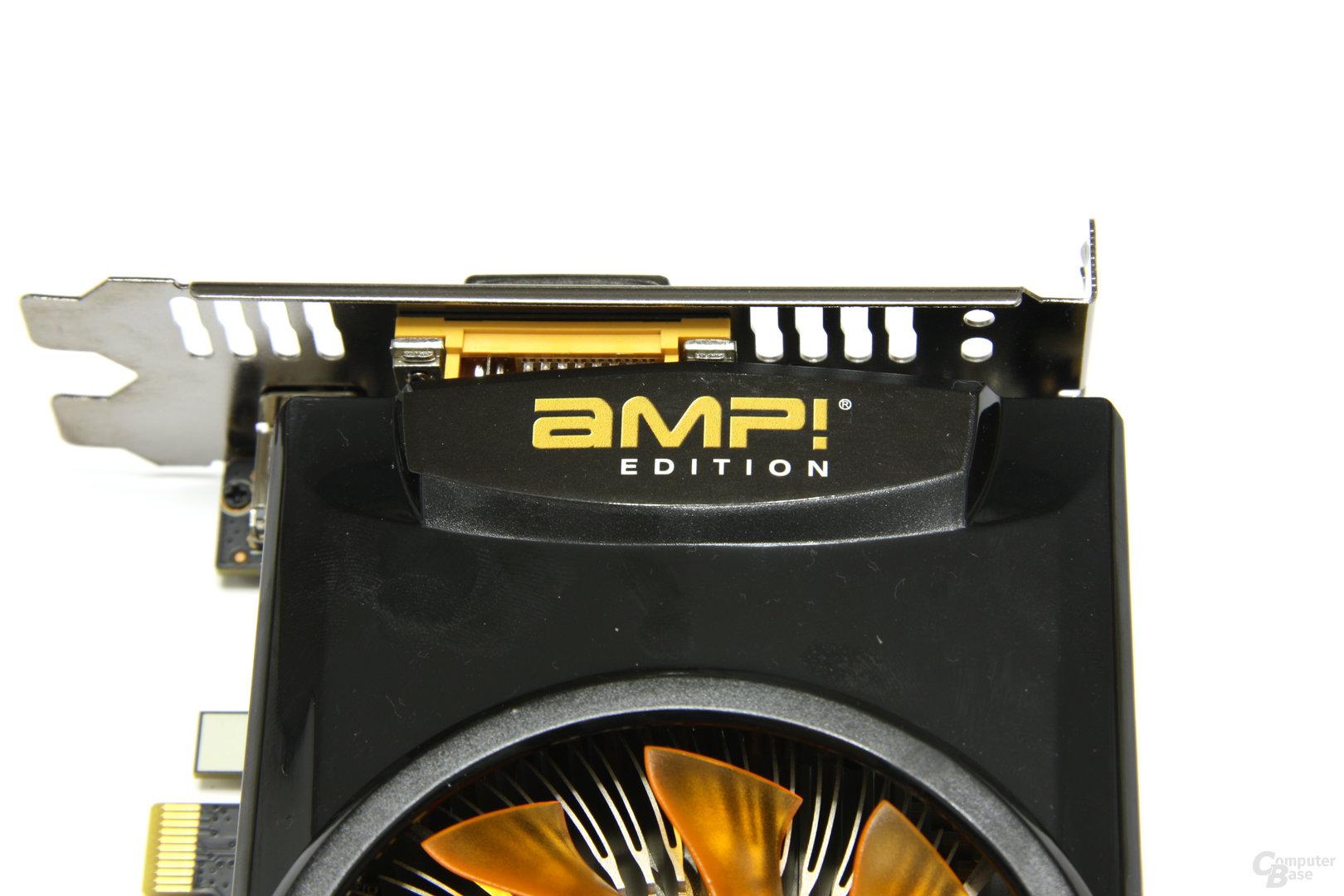GeForce GTX 460 AMP! AMP!-Logo