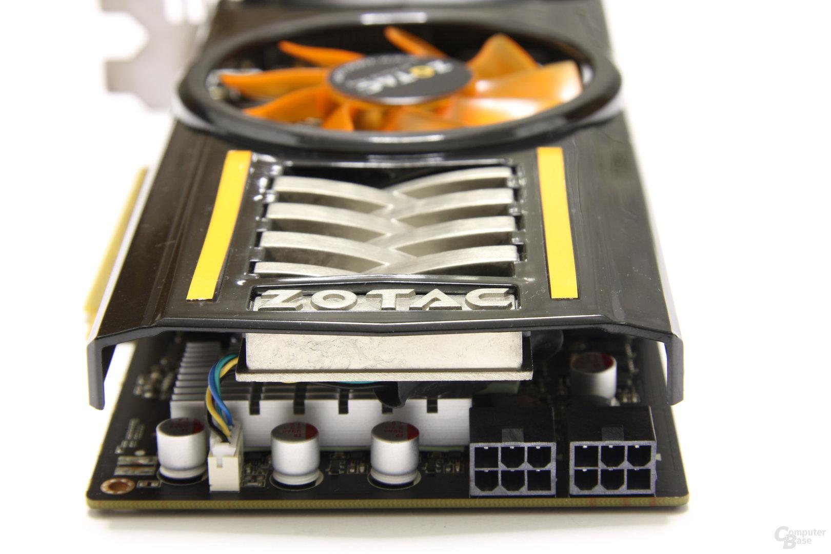 GeForce GTX 460 AMP! von hinten