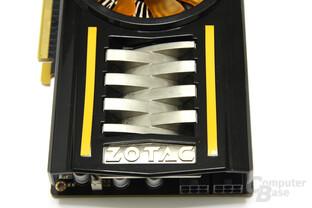 GeForce GTX 460 AMP! von oben