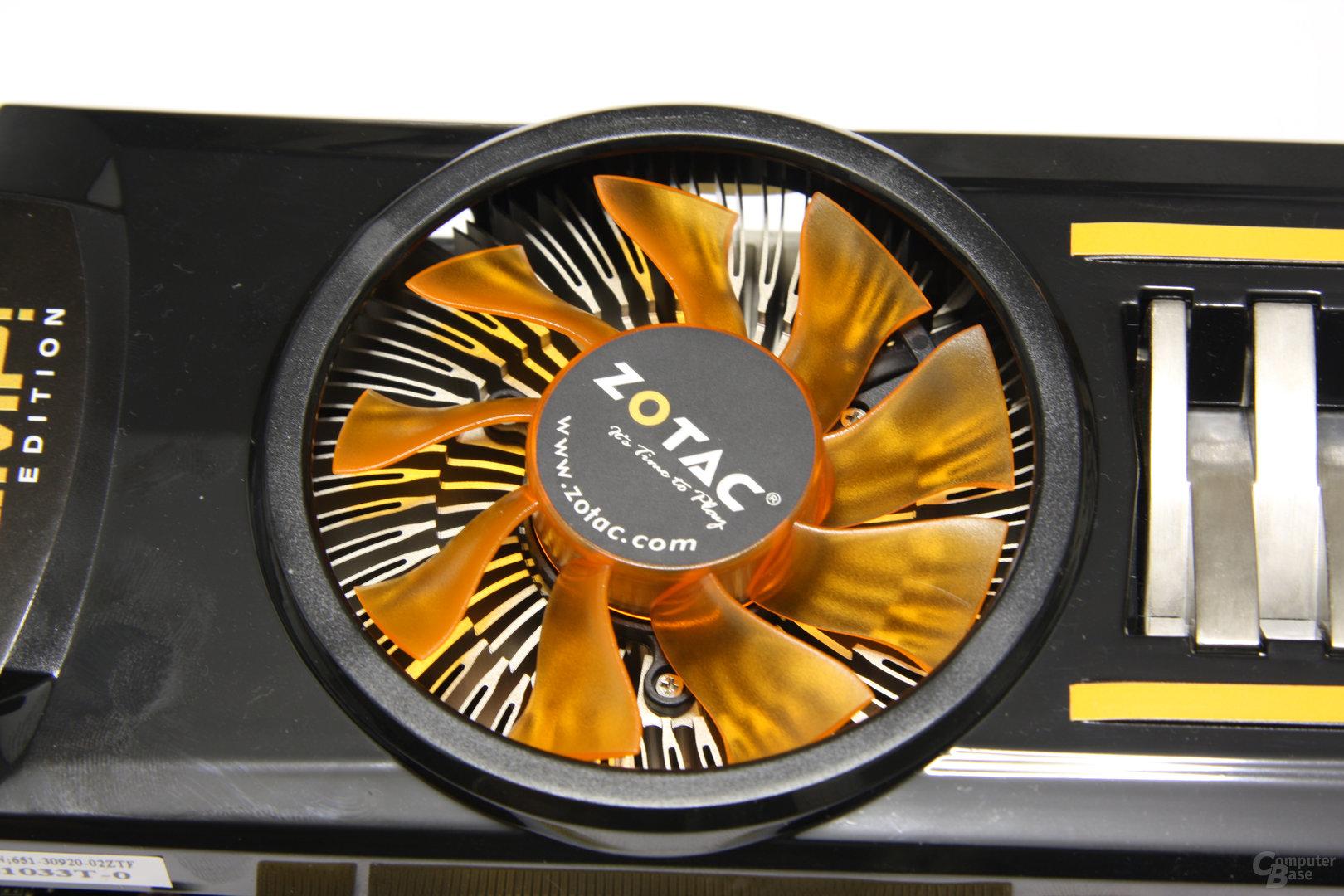 GeForce GTX 460 AMP! Lüfter