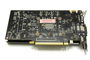 GeForce GTX 460 AMP! Rückseite