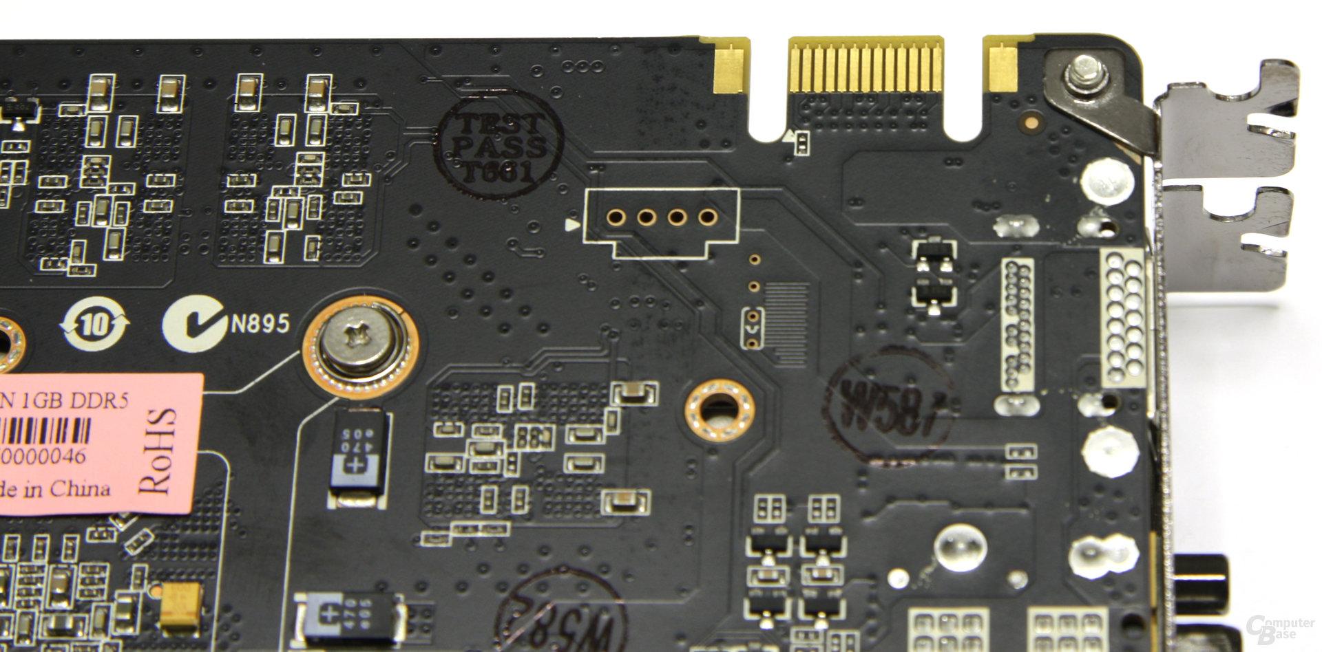 GeForce GTX 460 AMP! SLI-Anschluss