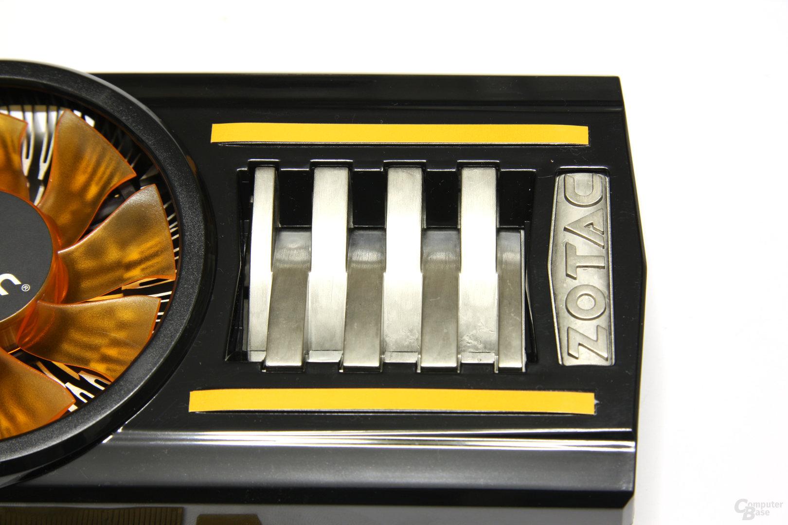 GeForce GTX 460 AMP! Schriftzug
