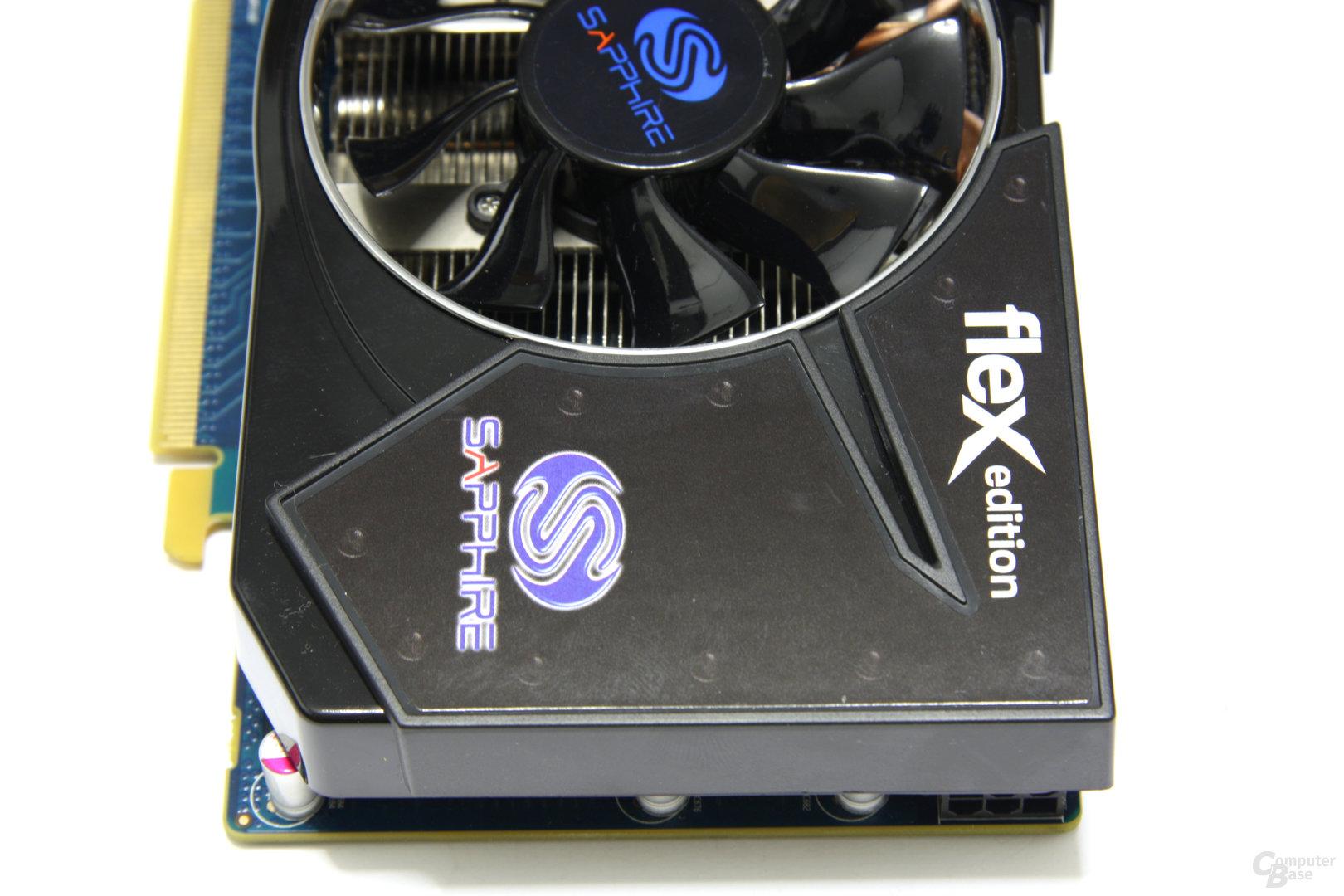 Radeon HD 5770 Flex von oben