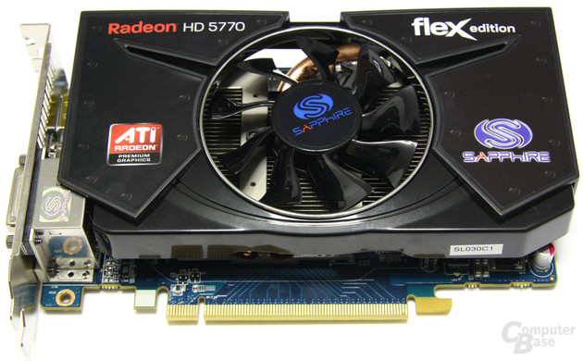 Sapphire Radeon HD 5770 Flex
