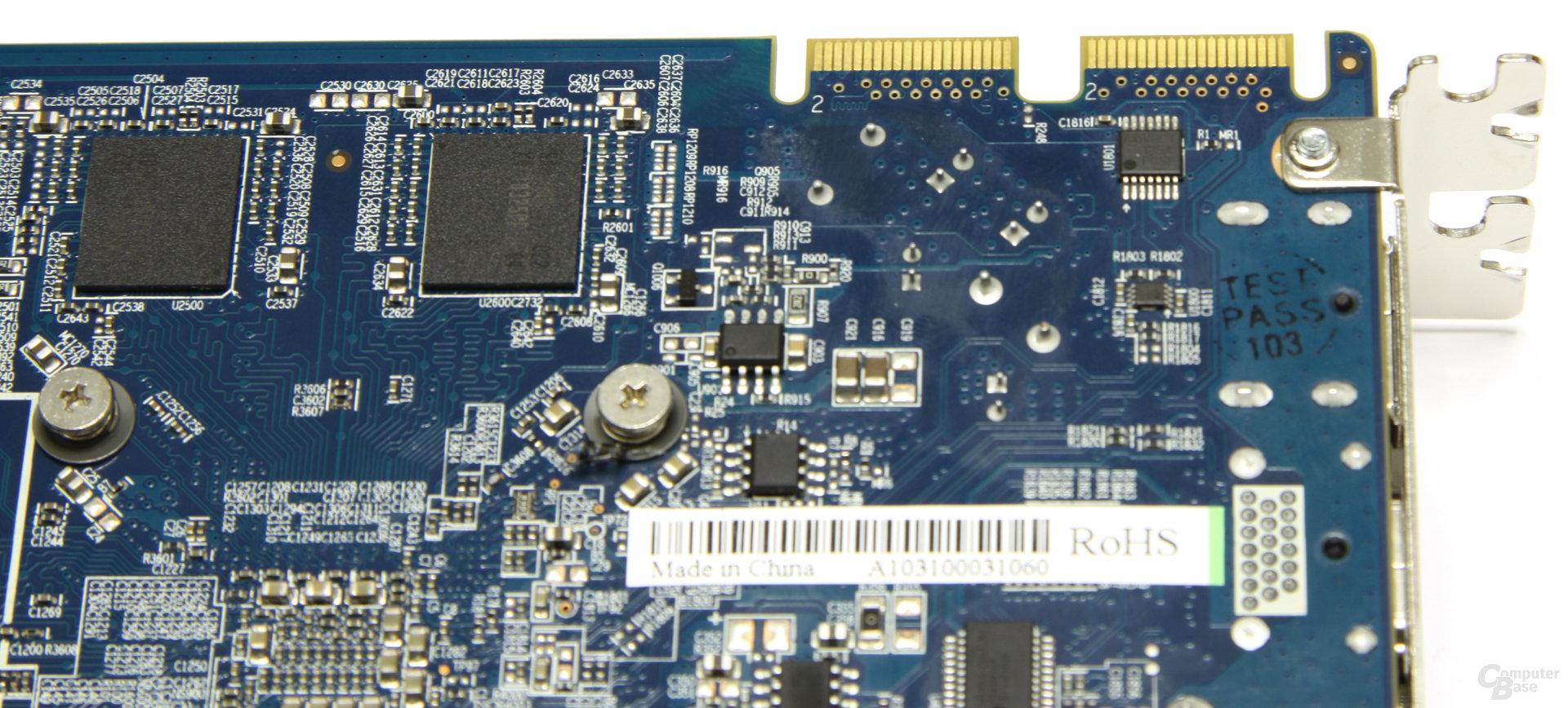 Radeon HD 5770 Flex CF-Anschlüsse