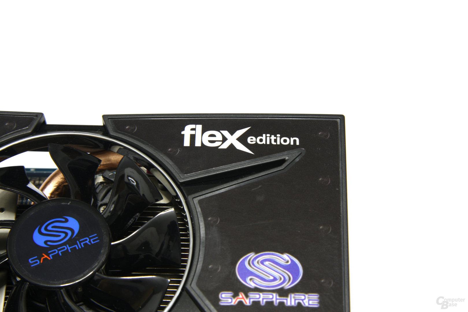Radeon HD 5770 Flex Schriftzug