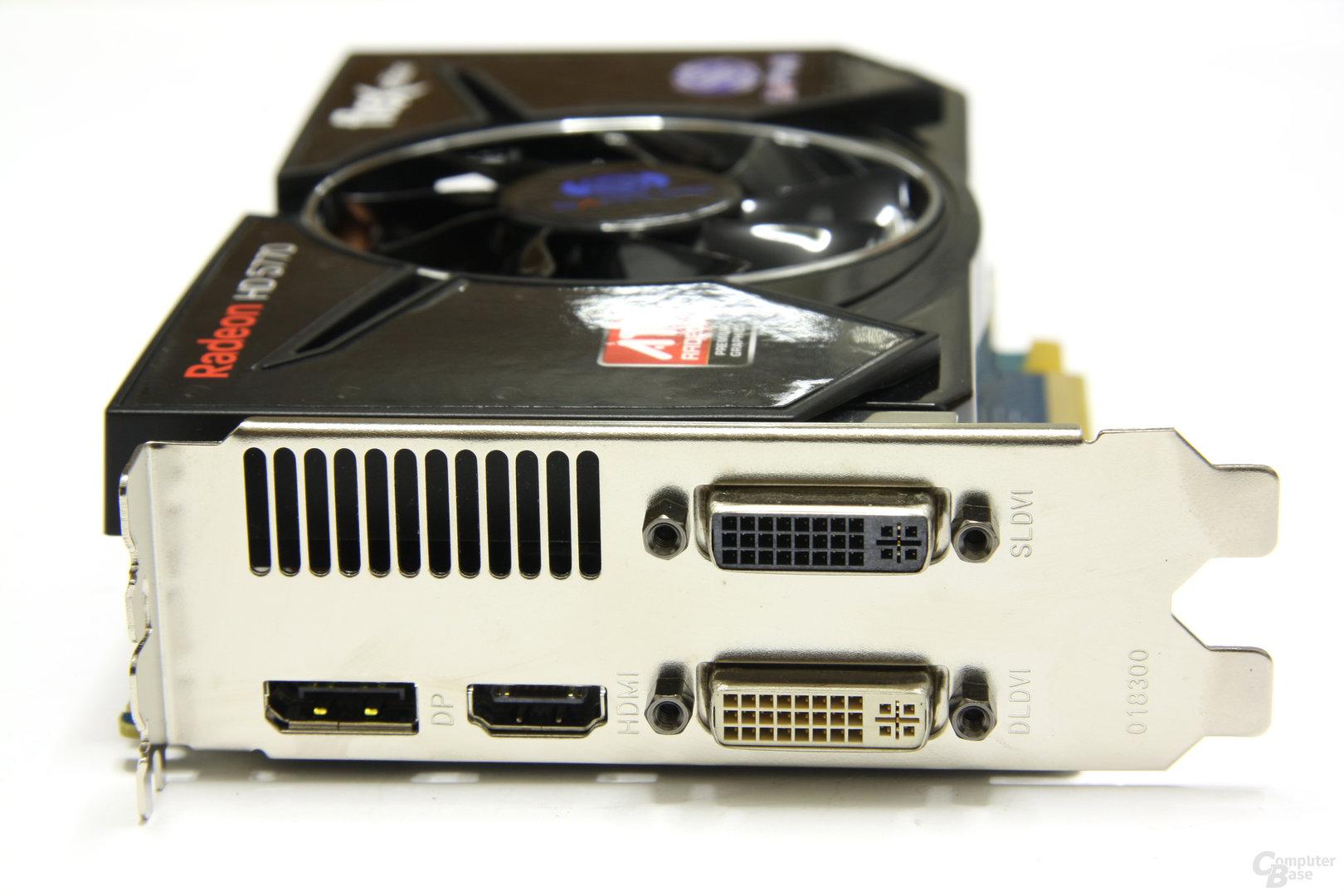 Radeon HD 5770 Flex Slotblech