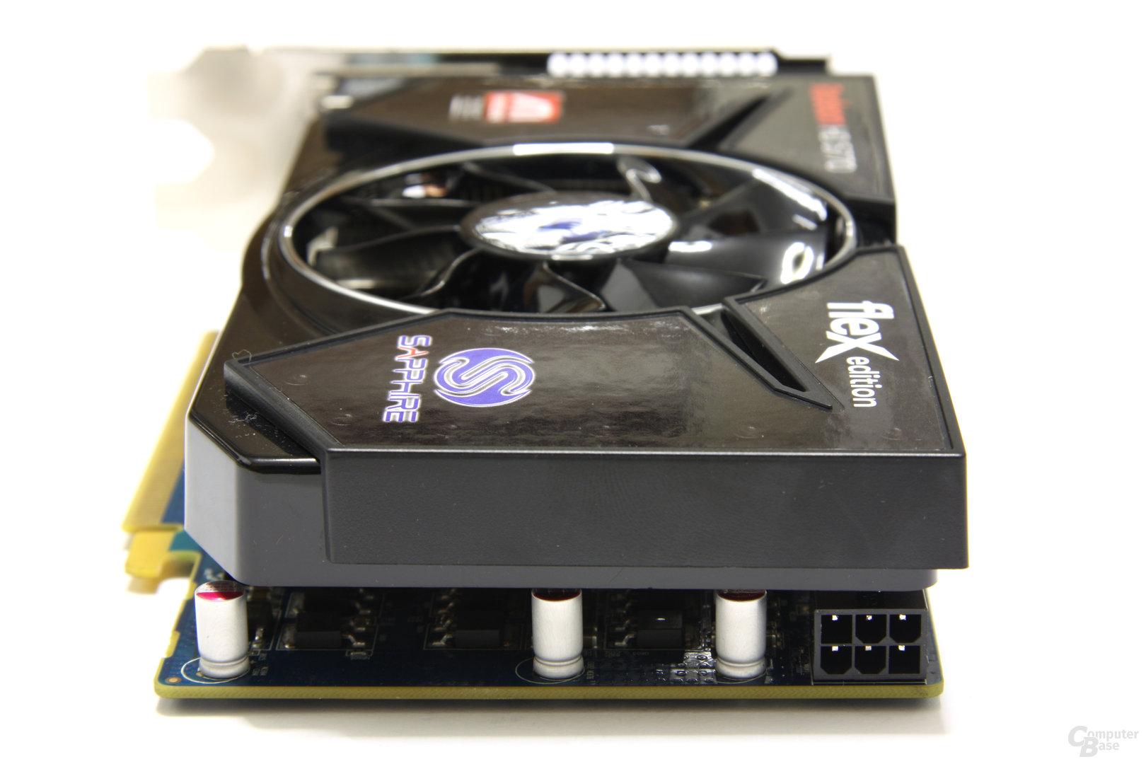 Radeon HD 5770 Flex von hinten