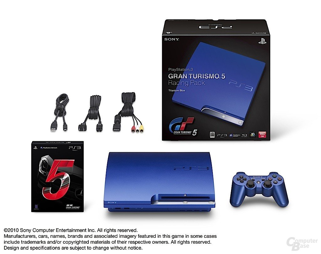 "Blaue PlayStation 3 zum ""Gran Tourismo 5""-Start"