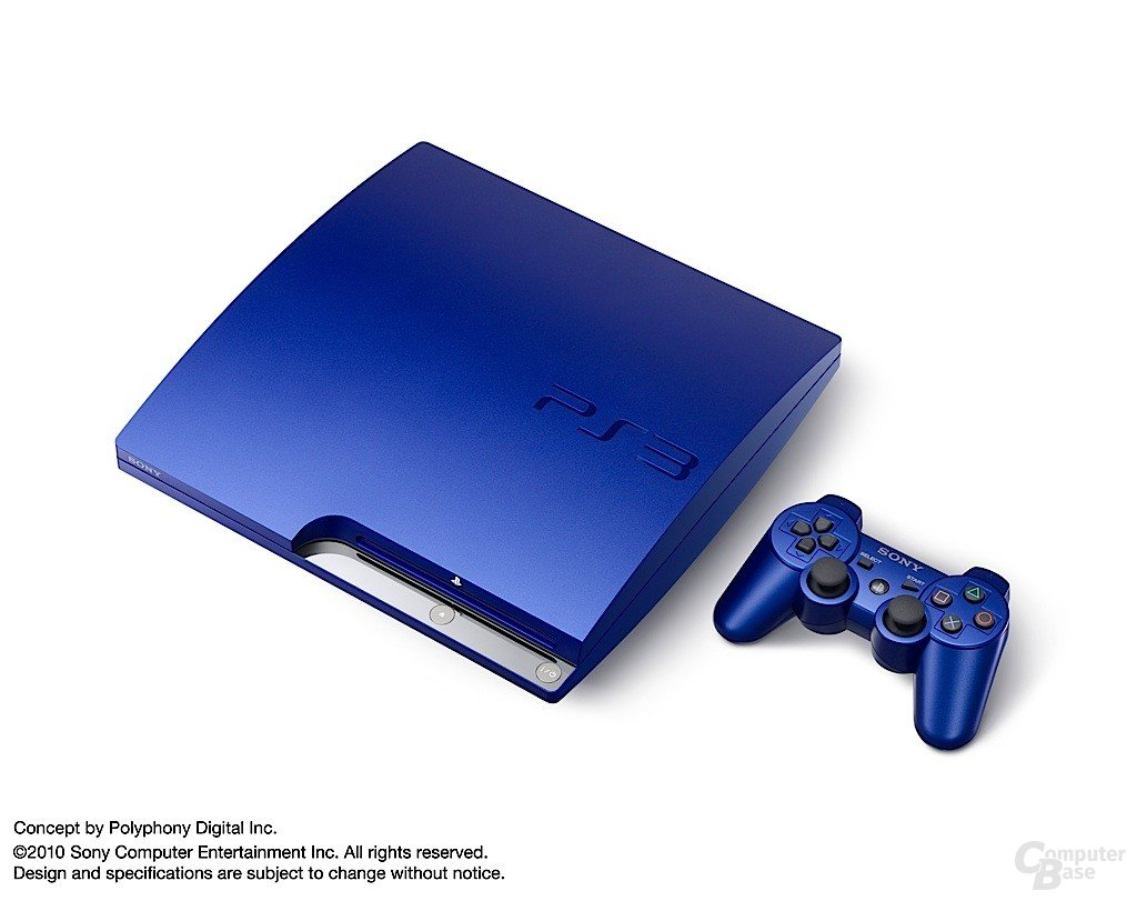 Blaue PlayStation 3