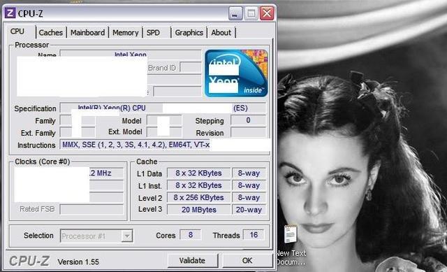 """Sandy Bridge EP"": acht Kerne, 16 Threads, 20 MB L3-Cache"