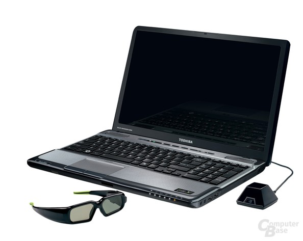 Toshiba Satellite A665 mit 3D-Technik