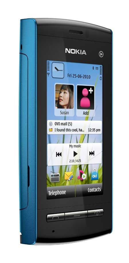 Nokia 5250, blau