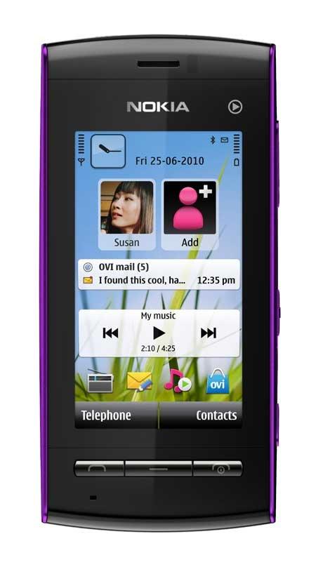 Nokia 5250, lila