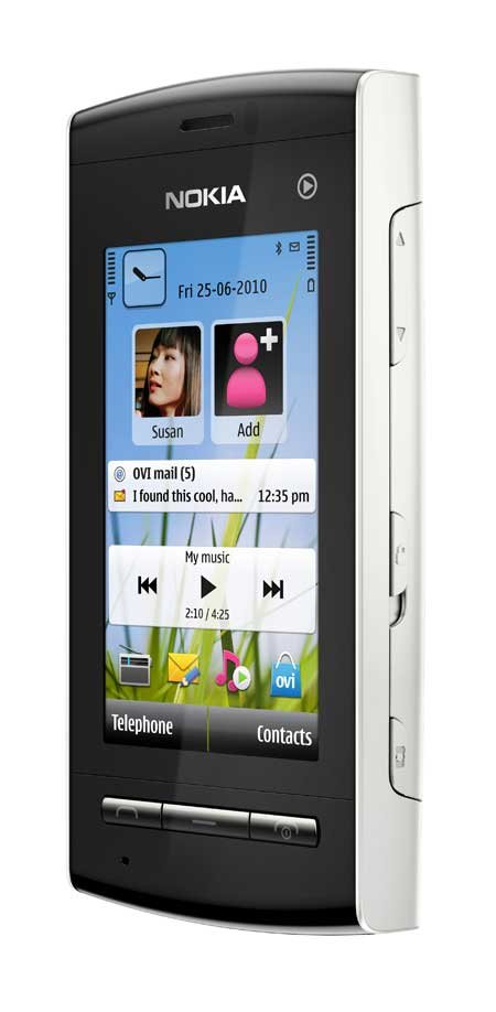 Nokia 5250, silber