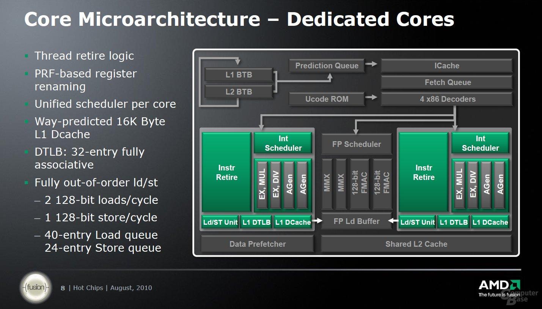"AMDs ""Bulldozer""-Präsentation bei ""Hot Chips 22"""