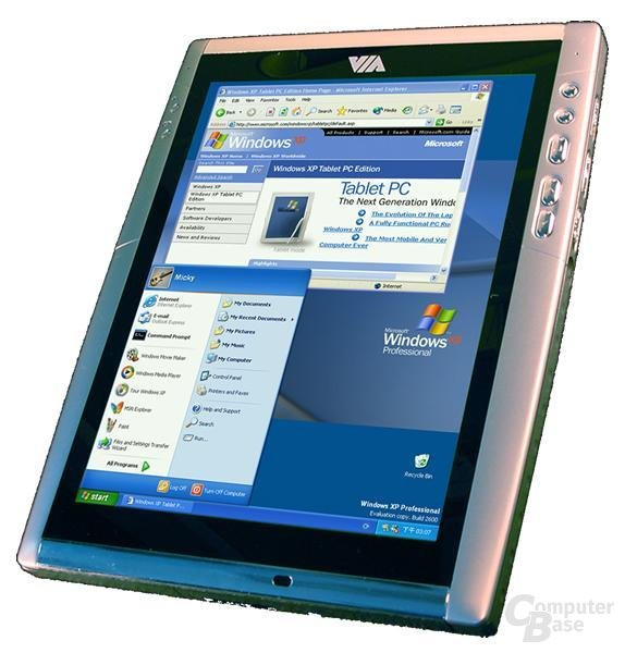 VIA Tablet Design PC