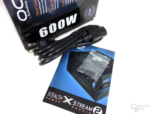 OCZ StealthXStream 2 600W – Lieferumfang