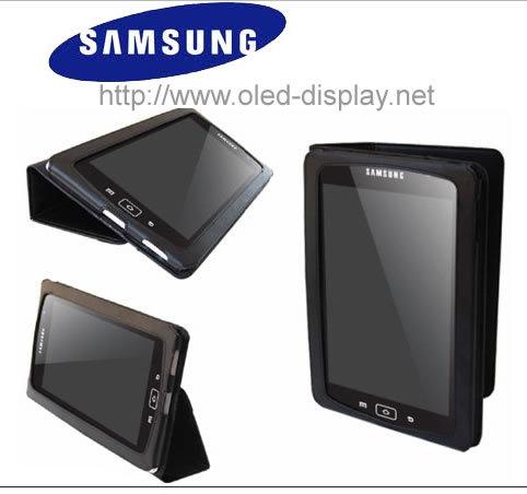 Samsung Galaxy Tab: Ledertasche