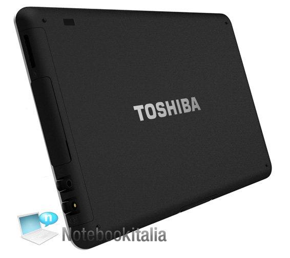 Toshiba Folio 100/SmartPad: Rückseite