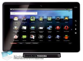 Toshiba Folio 100/SmartPad: Vorderseite