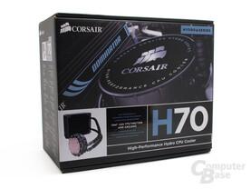 Corsair H70 Verpackung