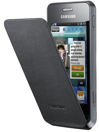 Samsung Wave 723: Vorderseite mit Tasche