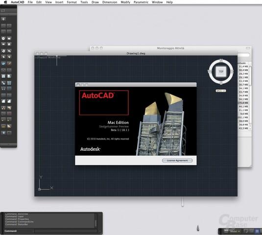AutoCAD MAC OS X