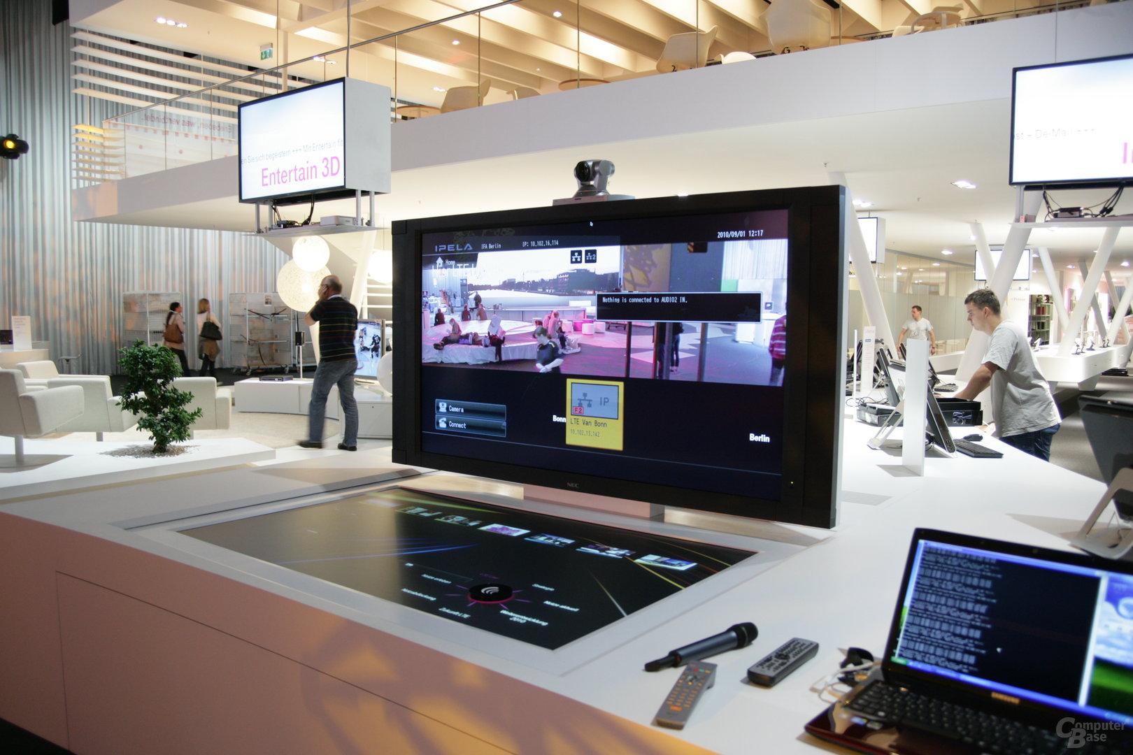Video-Stream nach Bonn via LTE