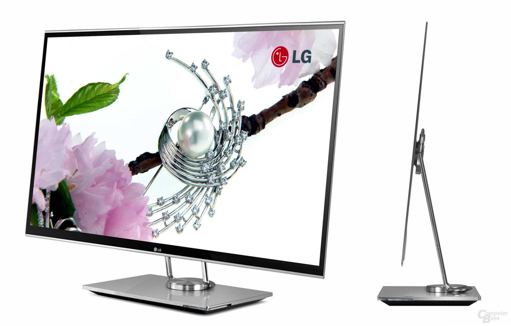 """LGs neuer 3D-OLED-TV mit 31""""-Bildschirmdiagonale"""