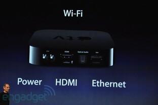 Apple TV: Anschlüsse