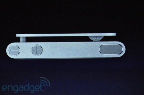 iPod nano: Draufsicht