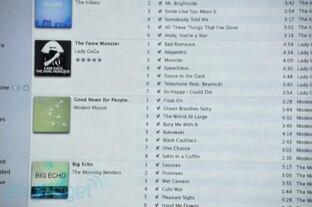 iTunes 10: Neue Ansicht