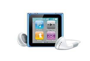 iPod nano: Vorderseite