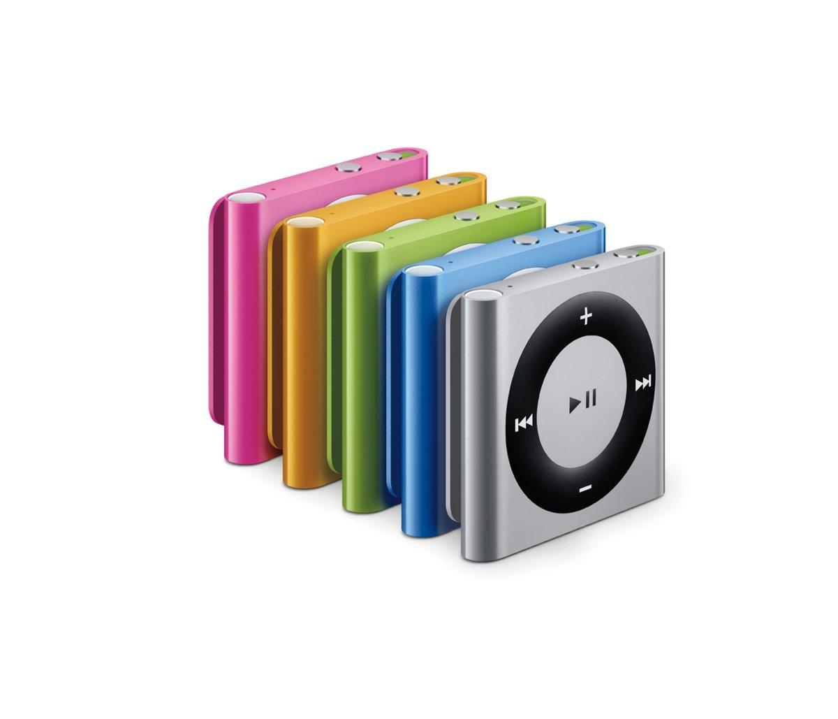iPod shuffle: Farbvarianten
