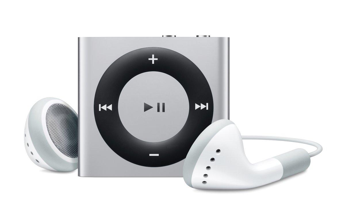 iPod shuffle: Voderseite