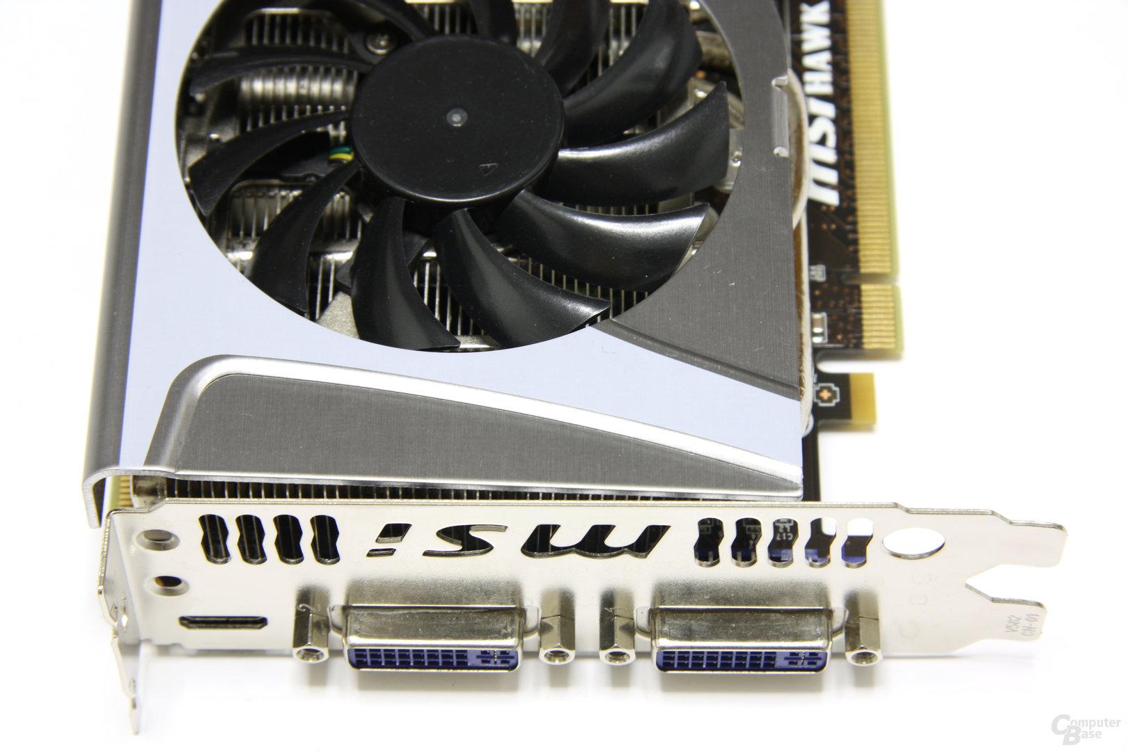 GeForce GTX 460 Hawk Anschlüsse