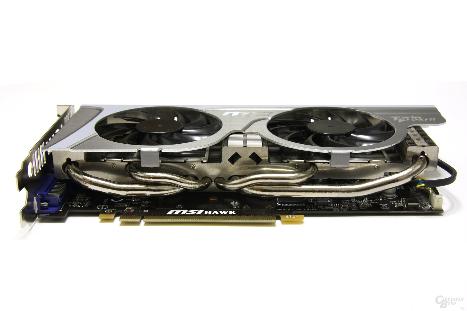 GeForce GTX 460 Hawk Seitenprofil