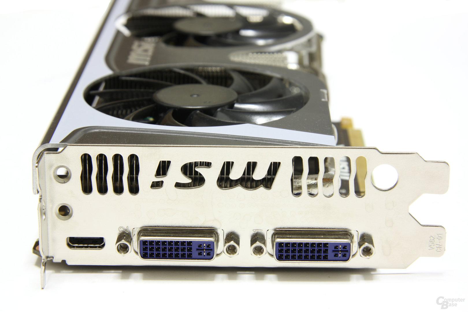 GeForce GTX 460 Hawk Slotblech