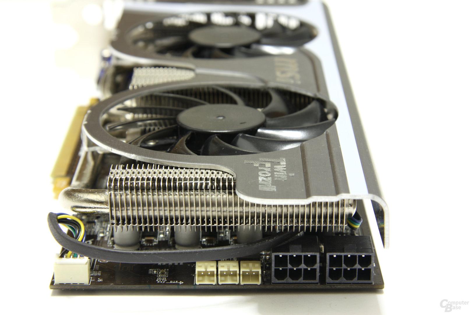 GeForce GTX 460 Hawk Stromanschlüsse